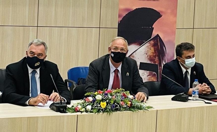 Τελετή αδελφοποίησης του Δήμου Σπάρτης με τους Δήμους Λαμιέων και Αλιάρτου - Θεσπιέων