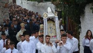 Το Λεωνίδιο τίμησε την Πολιούχο του Παναγία Έλωνα (pics)