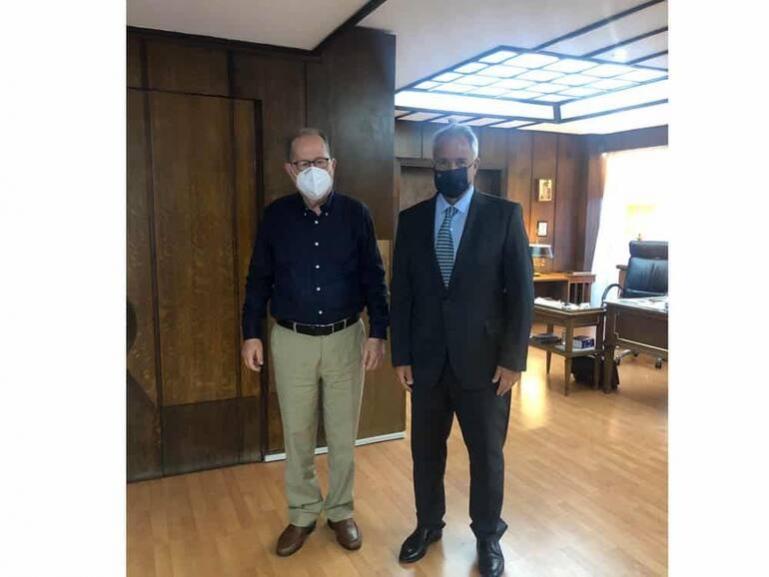 Συναντήσεις του περιφερειάρχη Π. Νίκα στο Μαξίμου και στο υπουργείο Εσωτερικών