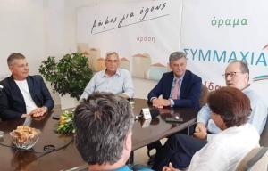 """Παναγιώτης Nίκας: """"Δέσμευσή μας η αγαστή συνεργασία Δήμων & Περιφέρειας προς όφελος των πολιτών!"""
