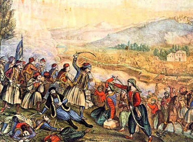 Σαν σήμερα 14 Απριλίου: Μάχη στο Λεβίδι