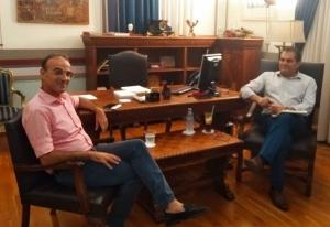 Ο Δήμαρχος Καλαμάτας συναντήθηκε με εκπροσώπους του Συνδέσμου Φιλολόγων