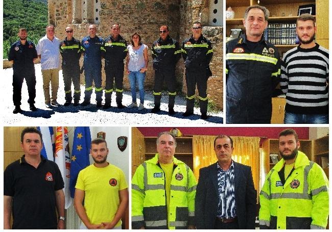 Συγχαρητήρια μηνύματα στις νέες Διοικήσης Πυροσβεστικού Σώματος & Ελληνικής Αστυνομίας Δυτικής Ελλάδος