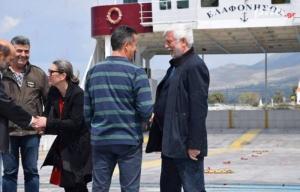 Περιοδεία του Περιφερειάρχη Πελοποννήσου Πέτρου Τατούλη στην Ελαφόνησο (video)