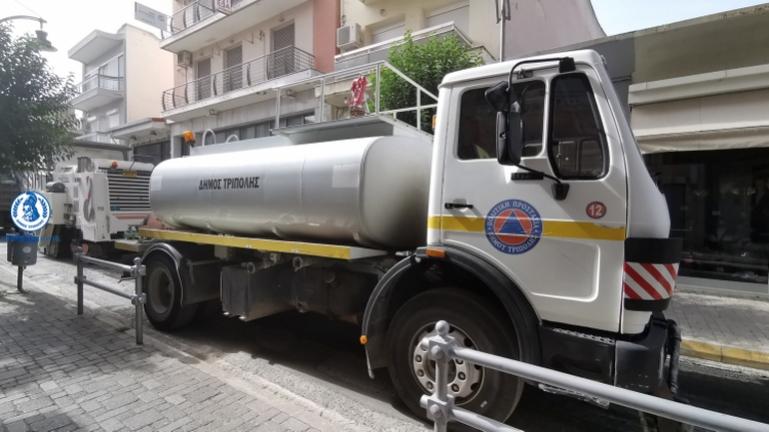 Γ. Λαγός: Άριστος επαγγελματισμός από τα συνεργεία καθαριότητας του Δήμου Τρίπολης