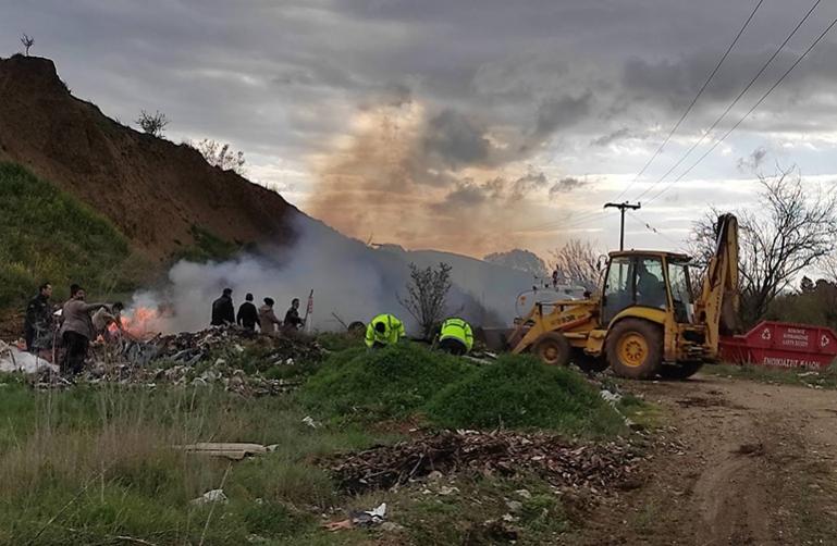 Σε καθαρισμό δύο ΧΑΔΑ στην τοπική κοινότητα Στρίγκου προχώρησε ο Δήμος Τρίπολης