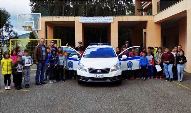 Ολοκληρώθηκαν οι δράσεις της Ελληνικής Αστυνομίας σε ορεινά και δυσπρόσιτα σχολεία της Επαρχίας Ολυμπίας με θέμα ''Οδική Ασφάλεια και Συμπεριφορά'' (pics)