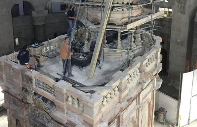 Το Ιερό κουβούκλιο του Παναγίου Τάφου στα Ιεροσόλυμα:  το μνημείο και το έργο αποκατάστασής του από το Πολυτεχνείο