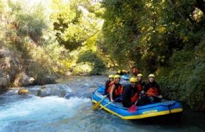 Ο Ε.Ο.Σ. Τρίπολης σας προσκαλεί για RAFTING στο Φαράγγι του Λούσιου και του Αλφειού Ποταμού