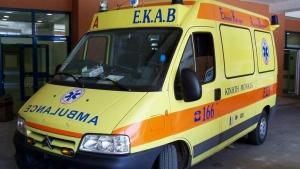 Τροχαίο ατύχημα στην οδό Γρηγορίου Λαμπράκη στην Τρίπολη