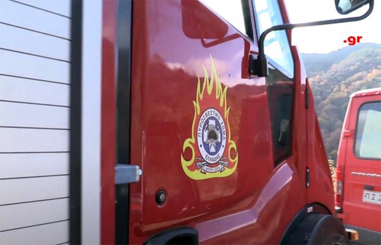 Φωτιά σε σκουπιδότοπο στο Λυγουριό Αργολίδας