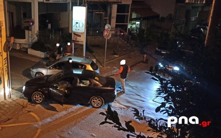 Τροχαίο ατύχημα στη διασταύρωση «Δημητρακοπούλου» και «Σπετσεροπούλου» (pics)
