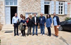 Περιοδεία Γιώργου Δέδε στη Βόρεια Κυνουρία και συνάντηση με τον Δήμαρχο κ. Μαντά