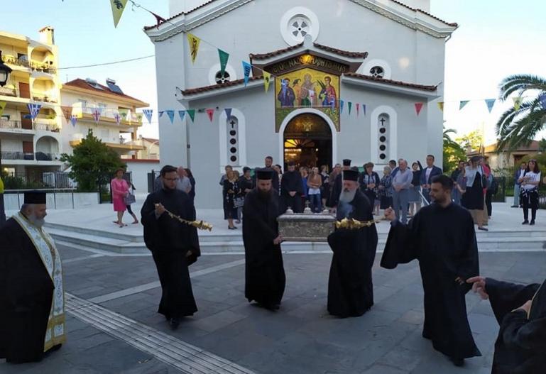 Τρίπολη: Αναχώρηση των Ιερών Λειψάνων των πολιούχων Νεομαρτύρων Δημητρίου και Παύλου (pics)