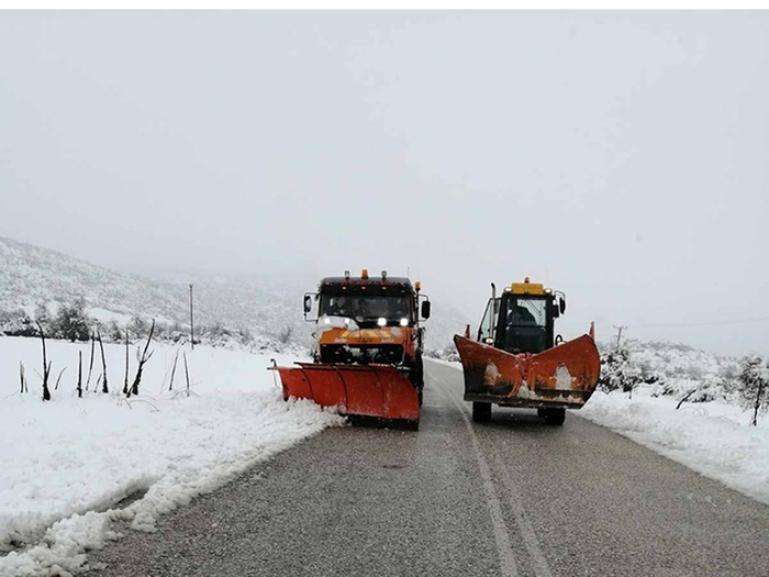 Ανοιχτό το οδικό δίκτυο στην Περιφέρεια Πελοποννήσου