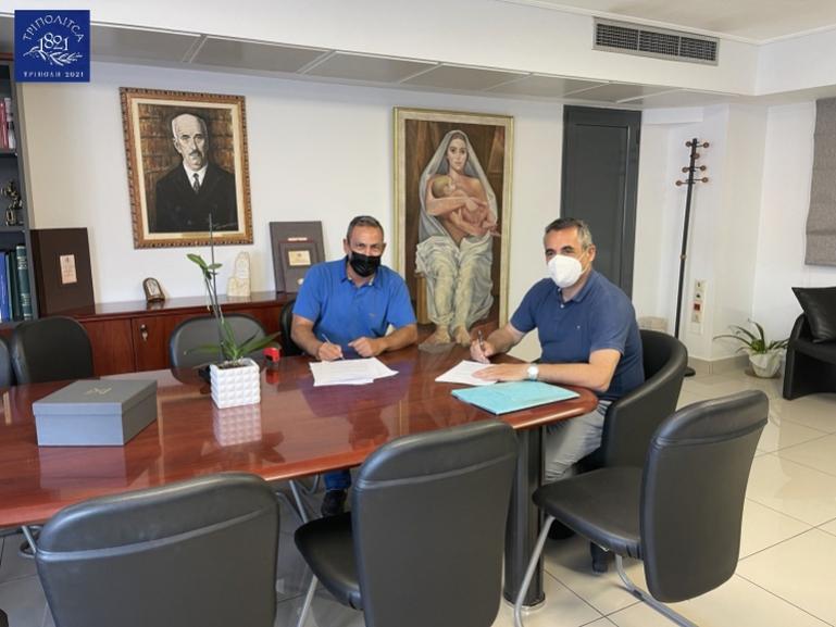 Κώστας Τζιούμης: «Αναβαθμίζουμε συνολικά τις αθλητικές υποδομές του Δήμου Τρίπολης»