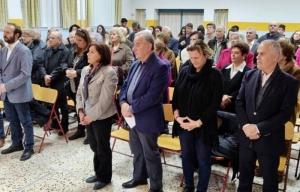 Επίσκεψη Κόρκα στο Κοινωνικό Φροντιστήριο του Δήμου Κορινθίων