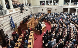 Ορκίστηκαν οι 300 της νέας Βουλής - Φωτογραφίες και παρασκήνιο