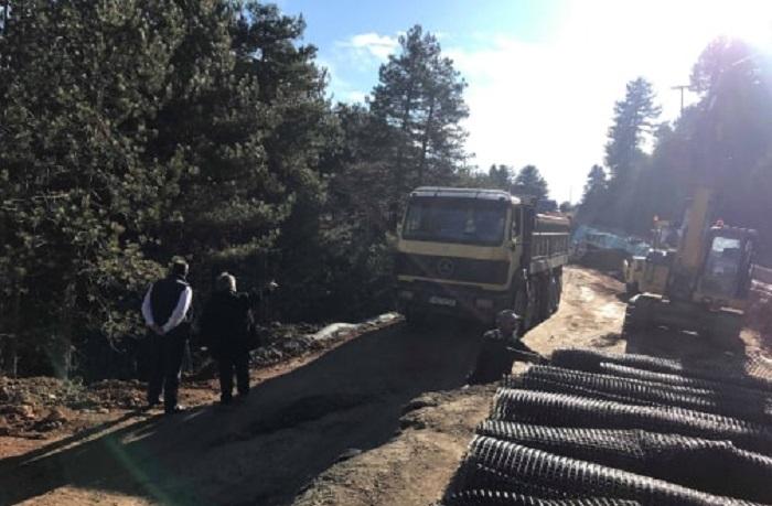 Αποτέλεσμα εικόνας για έργα αποκατάστασης του ορεινού δρόμου Τρικάλων – Καρυάς