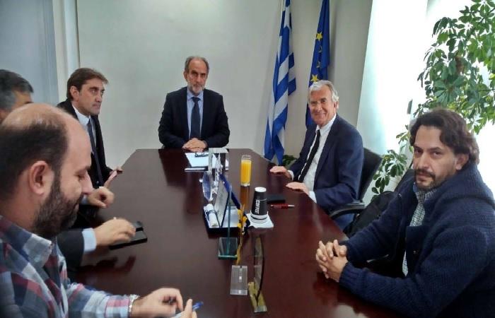 Συνάντηση του Περιφερειάρχη Δυτικής Ελλάδας με τον υφυπουργό Περιβάλλοντος Γεώργιο Δημαρά