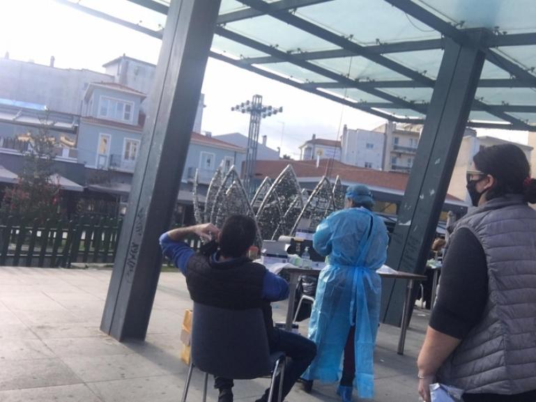 Δωρεάν rapid test στην πλατεία Πετρινού