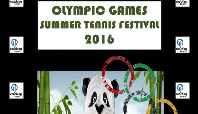 Olympic Games Tennis Summer Festival 2016 απο την ΑΕΚ Τρίπολης