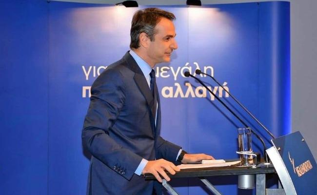 """""""Με τον Τσίπρα ή με τη χώρα"""" το δίλημμα του Κυριάκου Μητσοτάκη από το Ναύπλιο"""