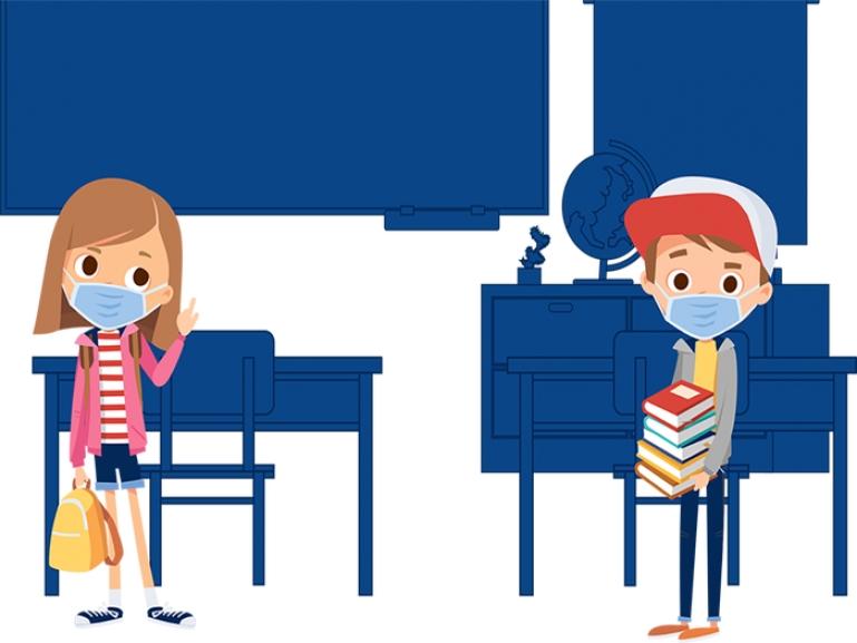 Χωρίς προβλήματα η πρώτη ημέρα επαναλειτουργίας των σχολείων στην Περιφέρεια Πελοποννήσου