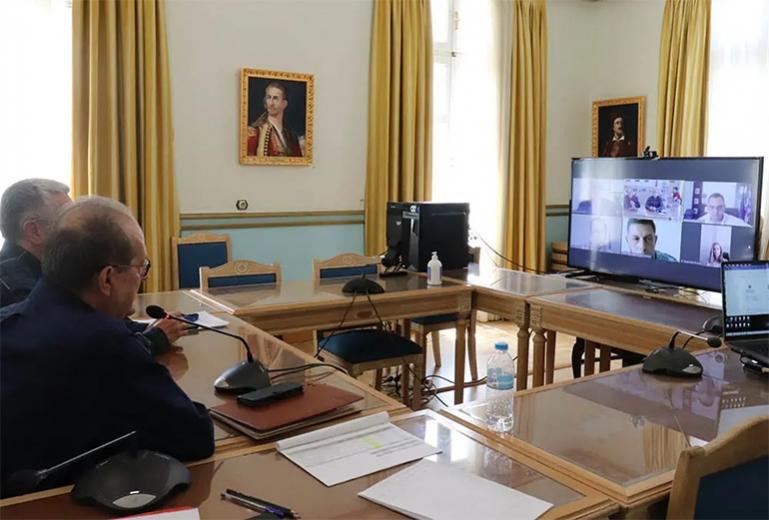 Διαβούλευση της Περιφέρειας με το Πανεπιστήμιο Πελοποννήσου σχετικά με το νέο ΕΣΠΑ 2021 – 2027