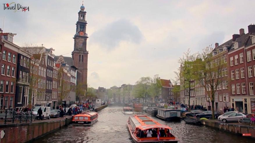 Στη γειτονιά της Άννας Φρανκ, στο Άμστερνταμ