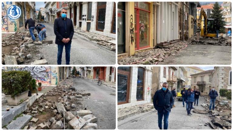 Κώστας Τζιούμης: «Φτιάχνουμε την εικόνα της Τρίπολης και των χωριών μας»