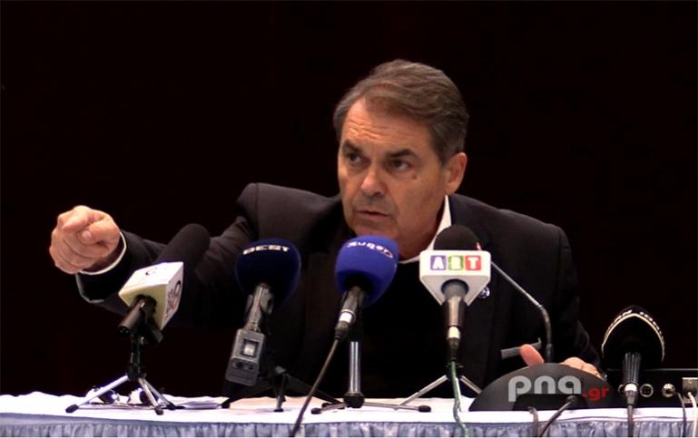 Δ. Καμπόσος: Η ΠΕΔ δεν δίνει χρήματα εάν δεν έχει τον έλεγχο στην Πελοπόννησος Α.Ε.