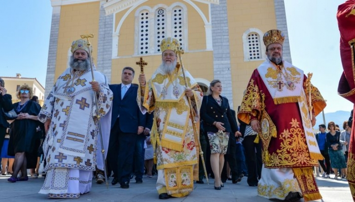 Πολυαρχιερατικό Συλλείτουργο για την εορτή των Μεσσηνίων Αγίων (pics)