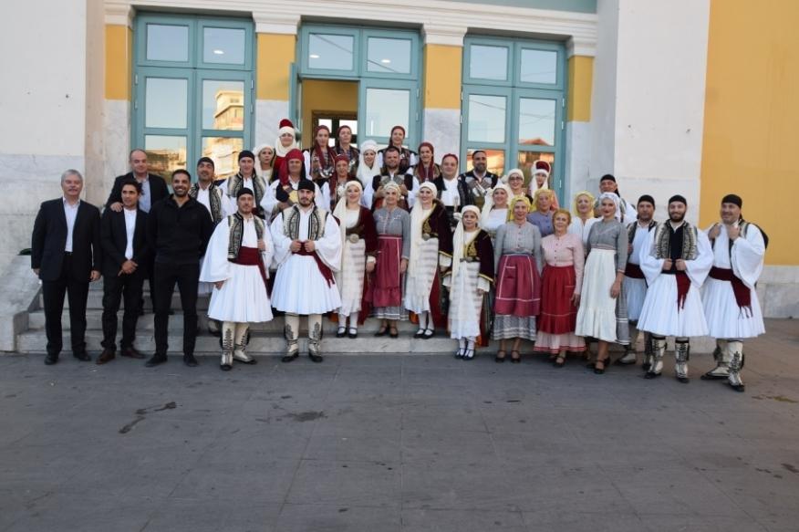 Τελετή αδελφοποίησης του Λυκείου Ελληνίδων Τρίπολης με Μορφωτικό Όμιλο από το Μεσολόγγι (pics-vid)