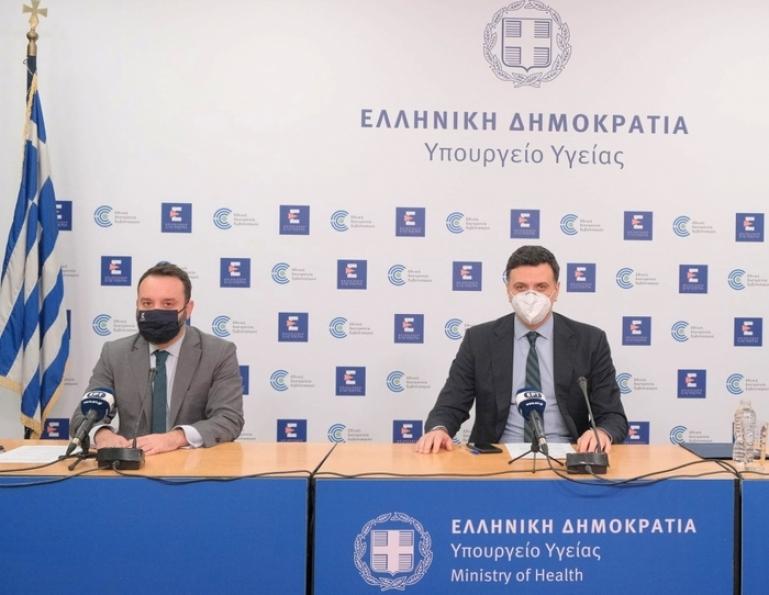 Ενημέρωση για τον κορωνοϊό από τον Υπουργό Υγείας Βασίλη Κικίλια