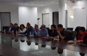 Επίσκεψη πέντε υποψήφιων ευρωβουλευτών του ΣΥΡΙΖΑ στην Μεγαλόπολη (videos - pics)