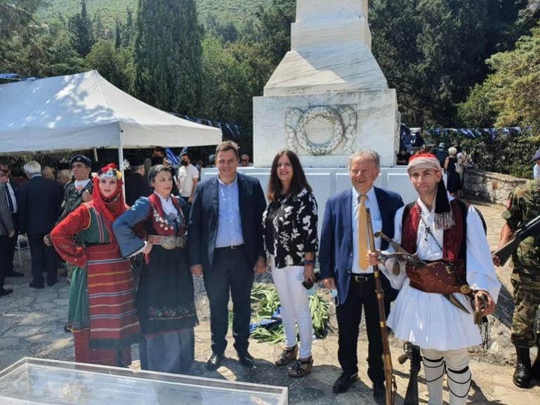H «Νέα Πελοπόννησος» για τον Εορτασμό για τα 199 χρόνια από τη Μάχη στα Δερβενάκια