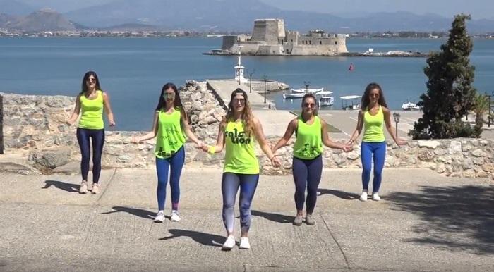 Νέα χορογραφία από τη Γιούλη Γιαννοπούλου με φόντο το Μπούρτζι (video)