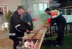 Με φωτιές, σουβλάκια και παραδοσιακό γλέντι ξεκίνησαν οι απόκριες στο Άργος