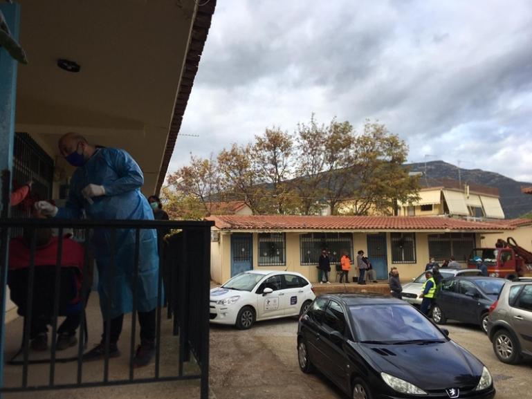 Έλεγχος σε υπαλλήλους του Δήμου Β. Κυνουρίας λόγω επιβεβαιωμένου κρούσματος