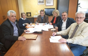 Συνάντηση της Δημάρχου κας Γεωργακοπούλου και του Διευθύνοντα Συμβούλου των Κτιριακών Υποδομών Α.Ε.