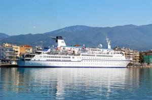 """Σε Καλαμάτα και Ναυπλιο το κρουαζιερόπλοιο """"Berlin"""" με 344 τουρίστες"""