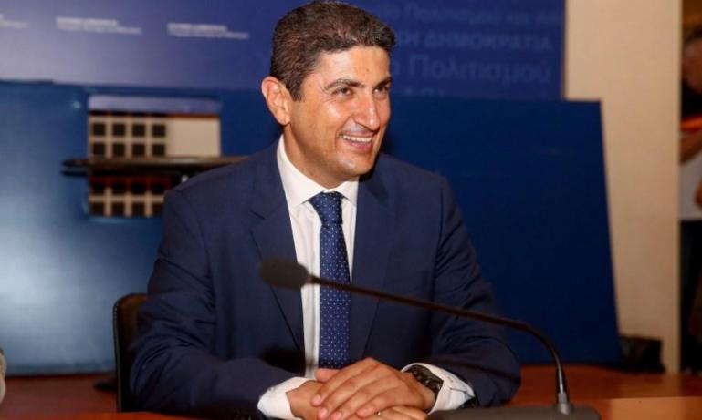Ο χαιρετισμός του Υφυπουργού Πολιτισμού και Αθλητισμού Λ. Αυγενάκη για τις εκδηλώσεις του Δήμου Τρίπολης