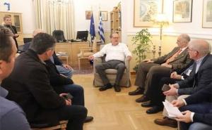 Συνάντηση Περιφερειάρχη Πελοποννήσου και εκπροσώπων της αστικής μη κερδοσκοπικής εταιρείας «agribator»