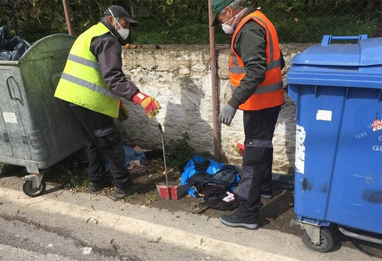 Έκκληση για καθαρή πόλη! Τα απορρίμματα μέσα στους κάδους βοηθήστε το προσωπικό καθαριότητας