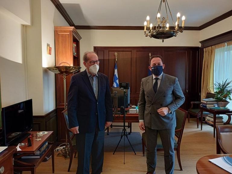 """Εντάξεις έργων στο """"Αντ. Τρίτσης"""" ανακοινώνονται μετά το Πάσχα στην Τρίπολη από την ηγεσία του υπουργείου Εσωτερικών"""