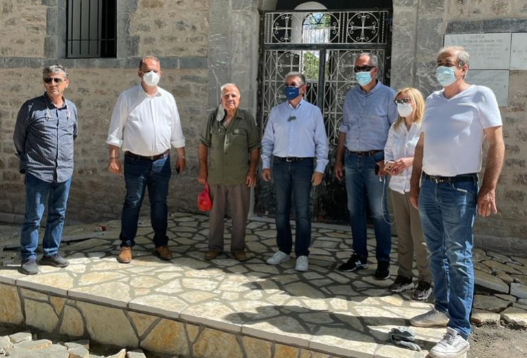 Αυτοψίες σε Δημητσάνα, Τρόπαια και Μεθύδριο από Δήμαρχο Γορτυνίας και Αντιπεριφερειάρχη