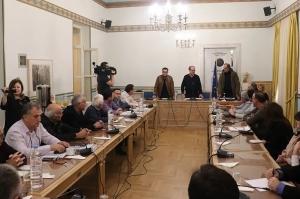 Σύσκεψη για τον κορωνοϊό στην Περιφέρεια Πελοποννήσου