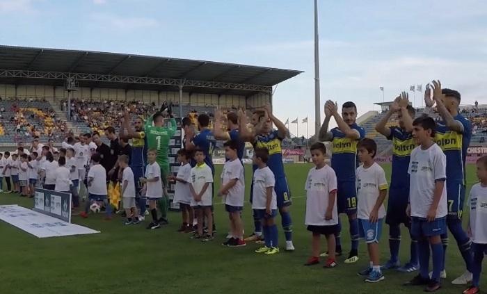 Η παρακάμερα της πρώτης νίκης του Αστέρα Τρίπολης στη φετινή Super League