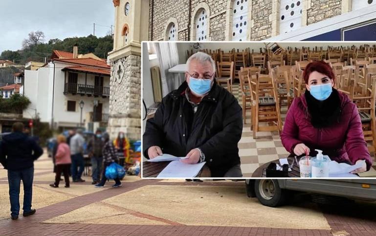 Ολοκληρώθηκε η διανομή τροφίμων και προμηθειών από τη Δημοτική Κοινωφελή Επιχείρηση Γορτυνίας στα Τρόπαια